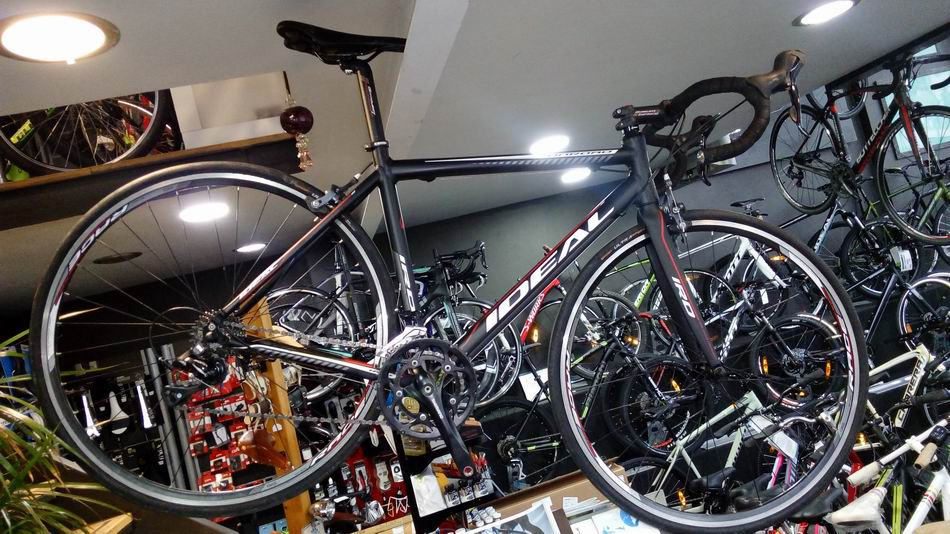 IDEAL ONROAD (M-55 Top tube effective) BK/RD 2016 Used...